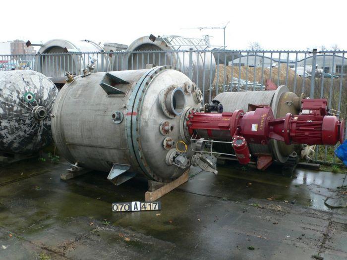 Stork 2560 Ltr Reactor