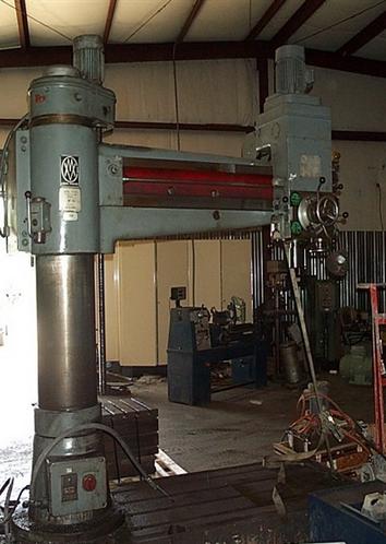 Csepel Radial Drilling Machine Max. 1150 Rpm