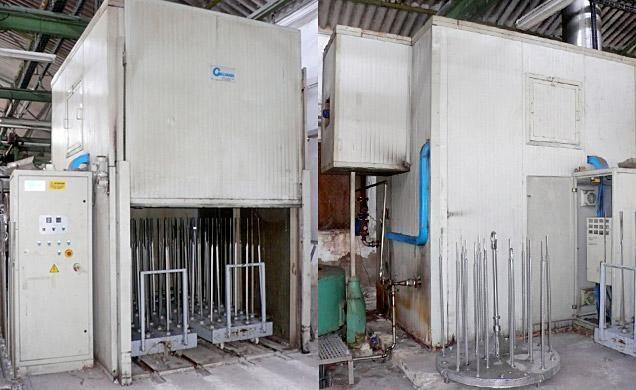 Galvanin ERS  Dryer for Cones