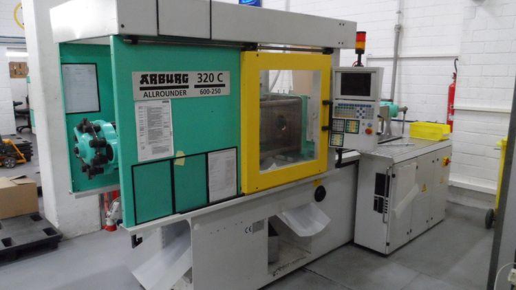 Arburg Allr. 320 C 600-250 Selogica 60 Ton