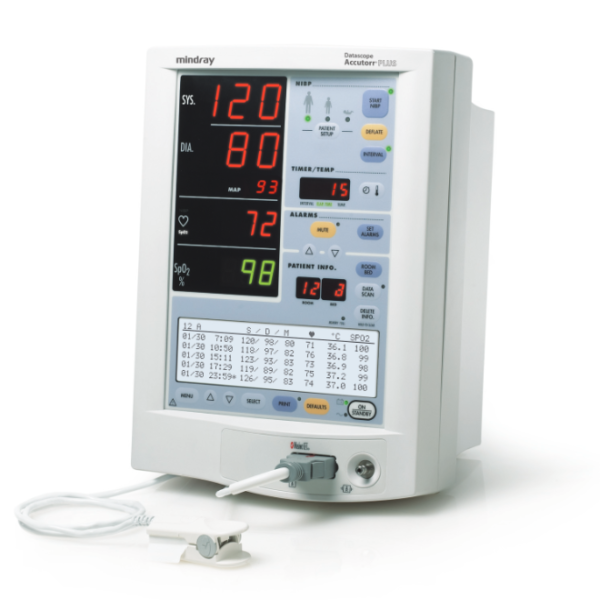 Mindray Accutorr Plus Patient Monitor