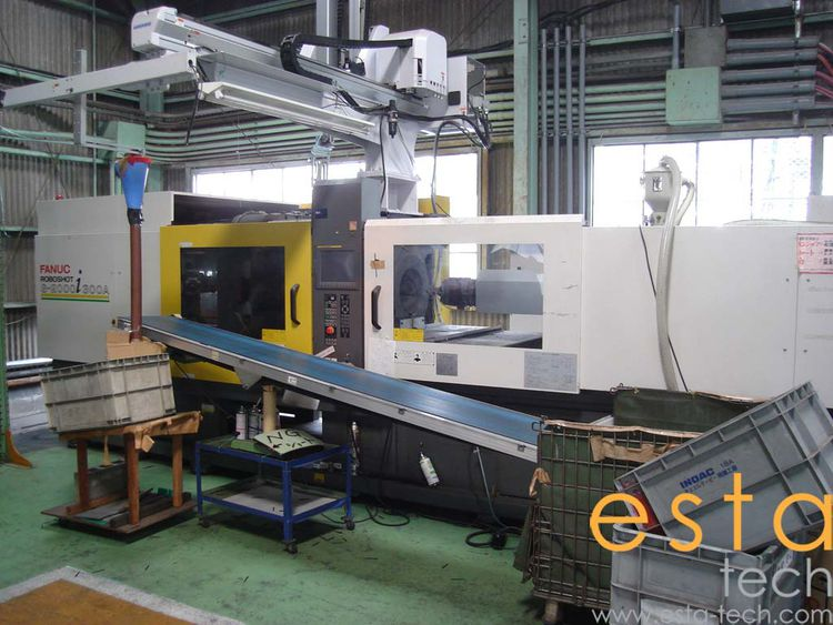 Fanuc ROBOSHOT S-2000 I300A, ELECTRIC INJECTION MOLDING MACHINE 300 Ton