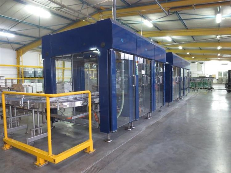 Schubert TLM system Assortment plant for glasses