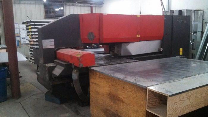 Amada PEGA 244, CNC Turret Punch Max. 22 Ton