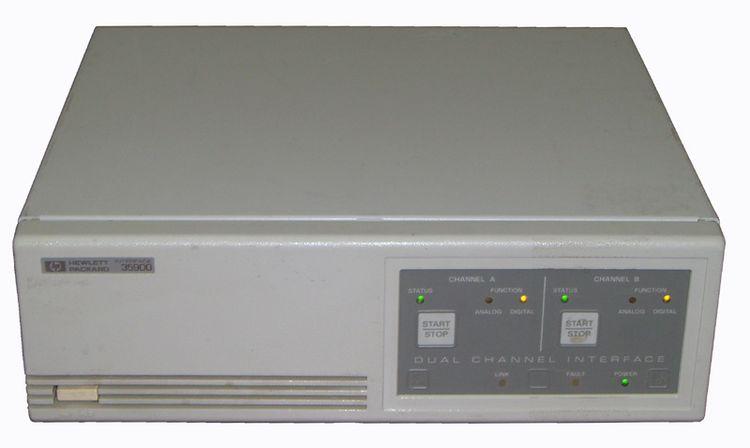 HP 35900 Interface