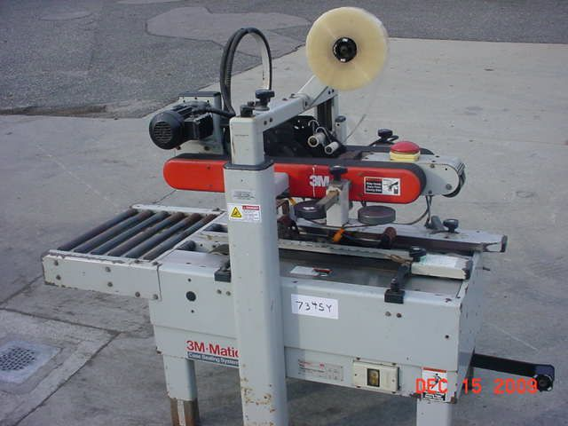 3M 700A, TOP AND BOTTOM CASE TAPING MACHINE