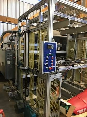 Automation SIBE 48x48 Single Station Vacuum Former