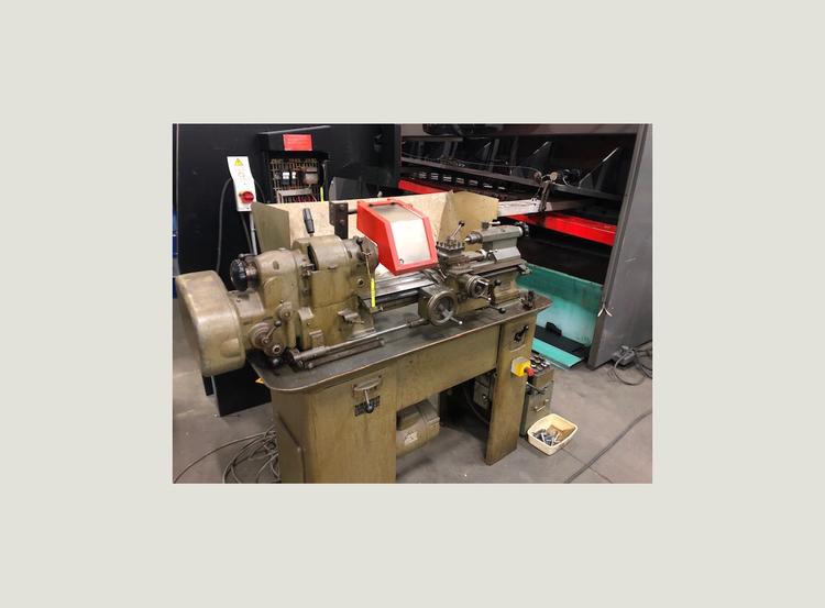 Schaublin Engine Lathe 5000 rpm 102 VM