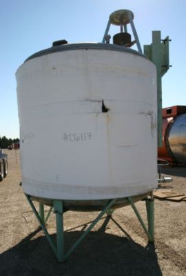 Others Single Shell Stainless Steel Tank 1,500 Gallon