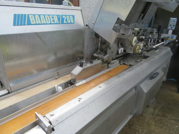 2 Baader 208 Filleting Machine