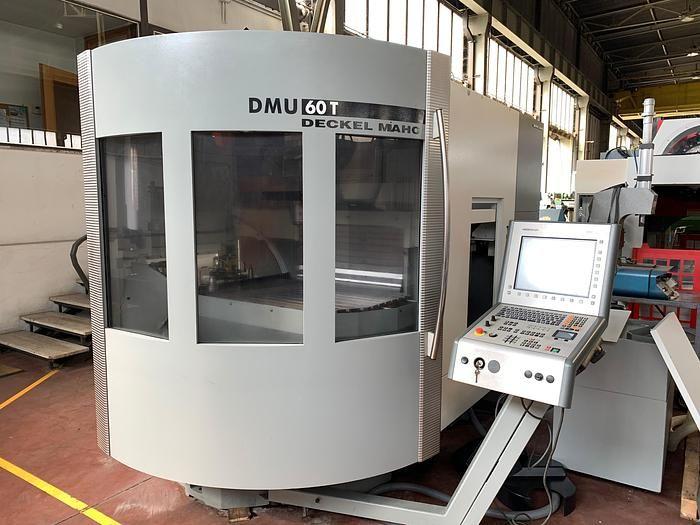 DMG DMU 60 T 4 Axis