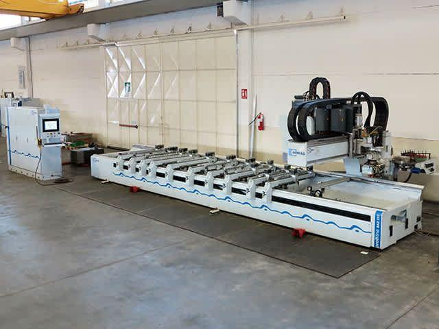 Homag BAZ 222/60/KC PROFILINE, Machine Centre with Pod and Rail Table 4