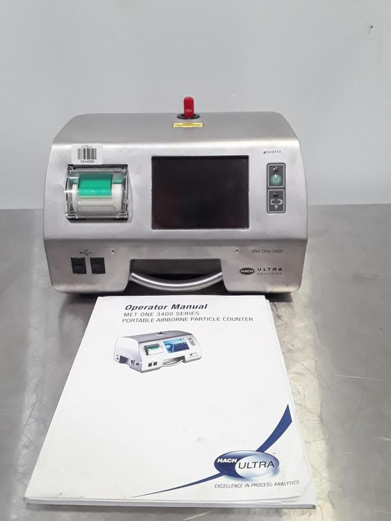HACH MET ONE 3400 Particle Size Analyzer