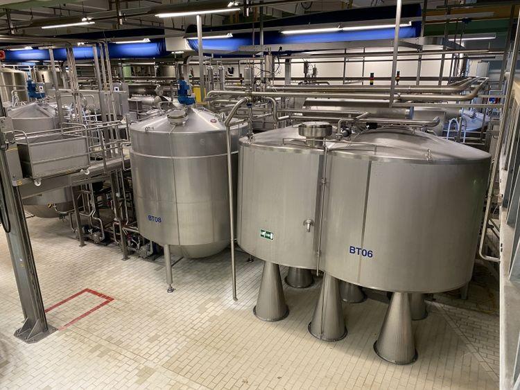 APV Curdmaster Cheese Curd preparation line