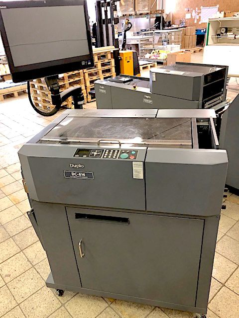 Duplo DC 616 Pro, Fully automatic slitter, cutter creaser machine for perfect finishing solution