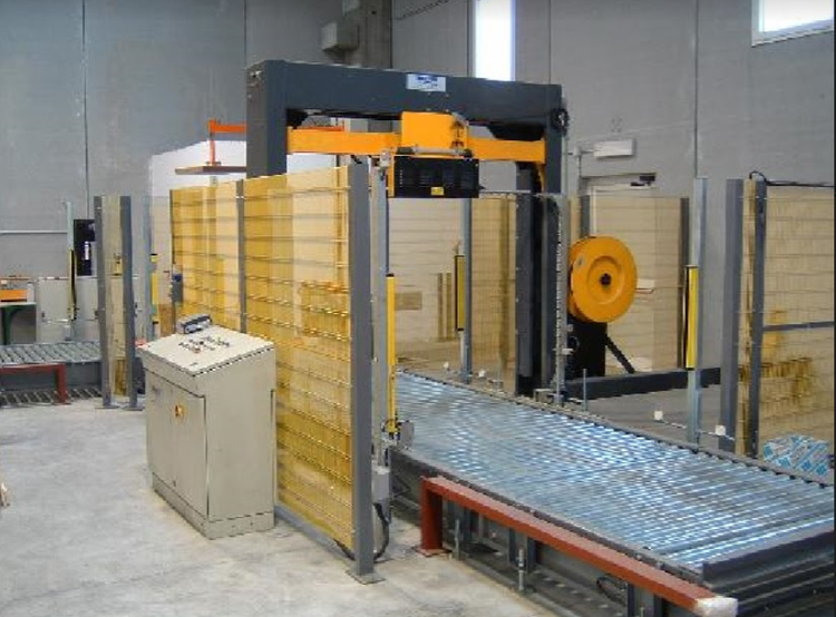 OMS automatic reel packing line Mod. 08  year 2004
