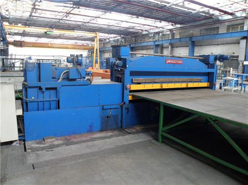 Ungerer RM 3000/3/9 CNC Straightening machine for take-up reel
