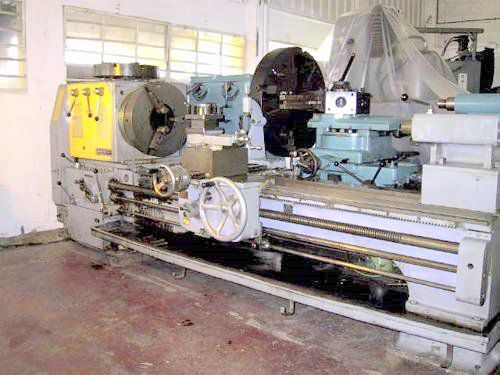 "Stanley Oil Country Lathe Max. 500 rpm 10""BORE"
