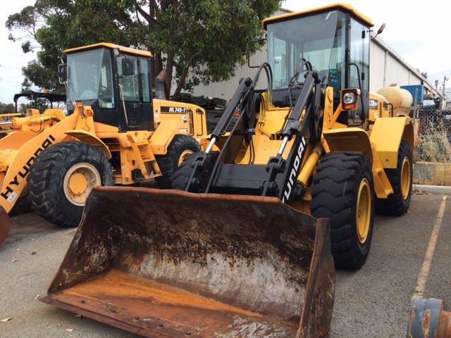 Hyundai HL730TM-7 Excavator