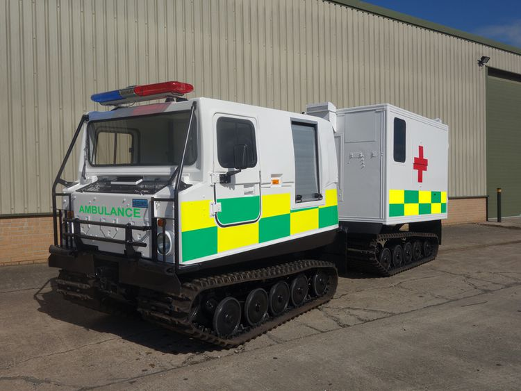 75 Hagglunds Bv206 Ambulance