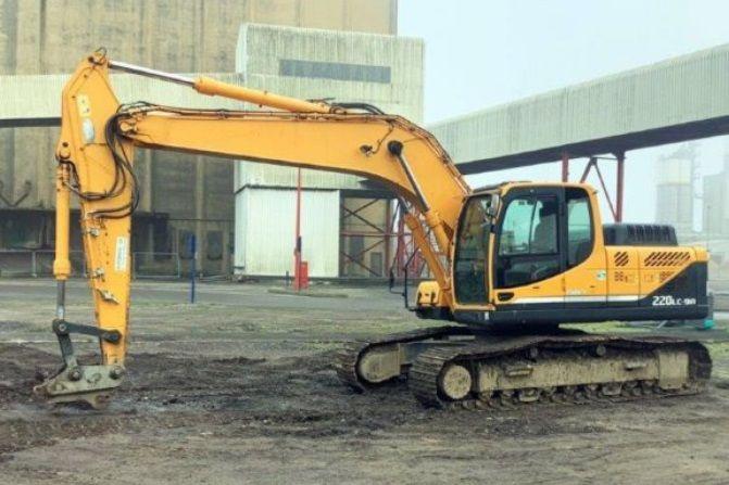 Hyundai R220LC-9A Crawler excavators
