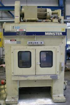 """Minster TR2-30 """"PULSAR"""" HIGH-SPEED, DOUBLE CRANK, STRAIGHT-SIDE PRESS 30 Ton"""