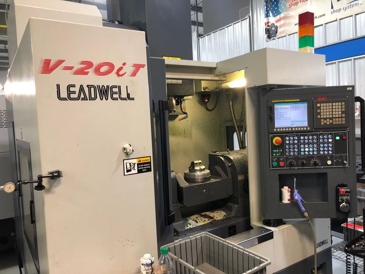 Leadwell V20iT 5 Axis
