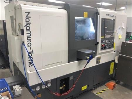 Nakamura Tome Fanuc 0i-TF 4500 rpm AS-200LMYS 4 Axis