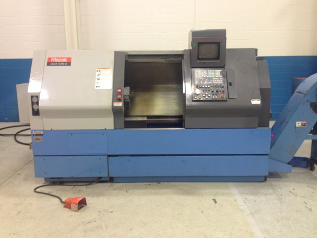 Mazak MAZATROL T-PLUS CONTROL Max. 3300 rpm QUICK TURN 30N 2 Axis