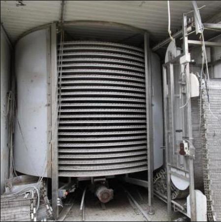Frigoscandia GyroCompact 42 Spiral Freezer