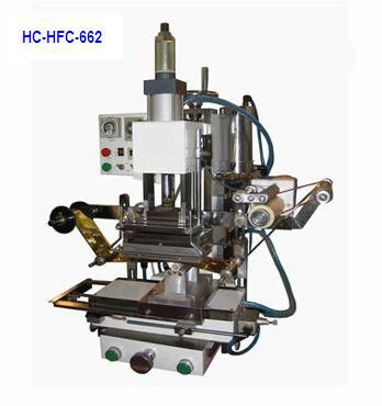 Others Flat cylinder hot stamping machine, automatic flat cylinder hot stamping machine, automatic hot foil stamping machine, automatic gilding machine, hot stamp machine, automatic hot stamp machine HC-HFC-662