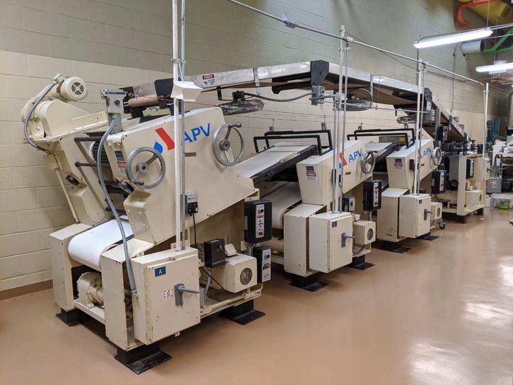 APV 2 82 Cracker Conveyer Line Sheeter