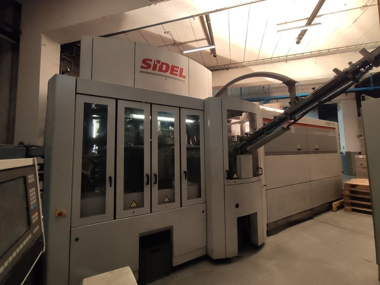 Sidel SBO 12 SERIES 2 BLOW MOULDING MACHINE