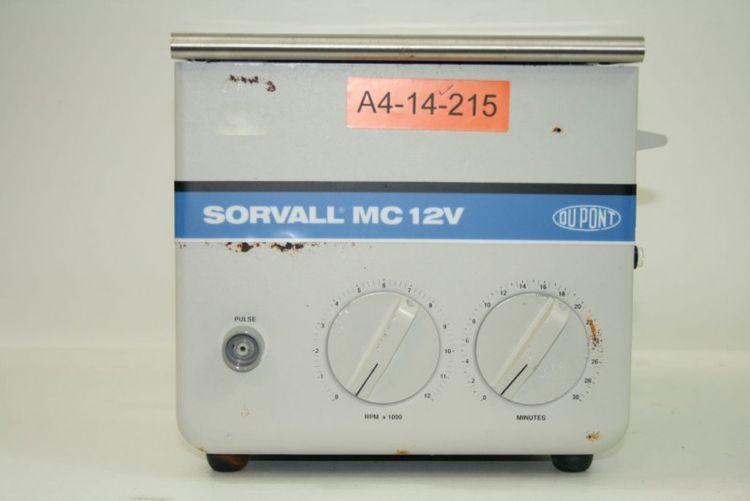 Sorvall MC-12V, Benchtop Centrifuge