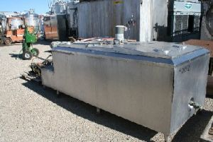 Dari Kool 400 Gallon Jacketed Cream Cooling Tank Jacketed Cream Cooling Tank