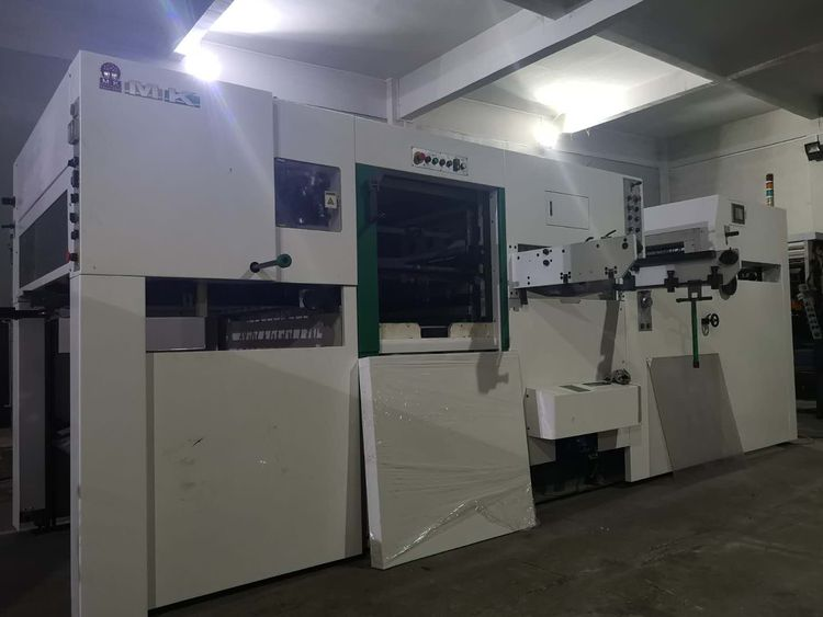 Mk 1060MF, DIE CUTTING & CREASING PRESS