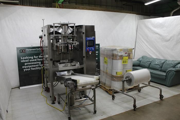Cleveland Cycle-Matic AFF-1150, Range Vertical Form-Fill and Seal Bagger