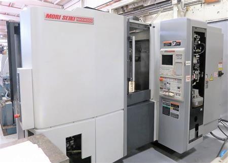 Mori Seiki NHX4000 730BM w/ MAPPS iV 4 Axis