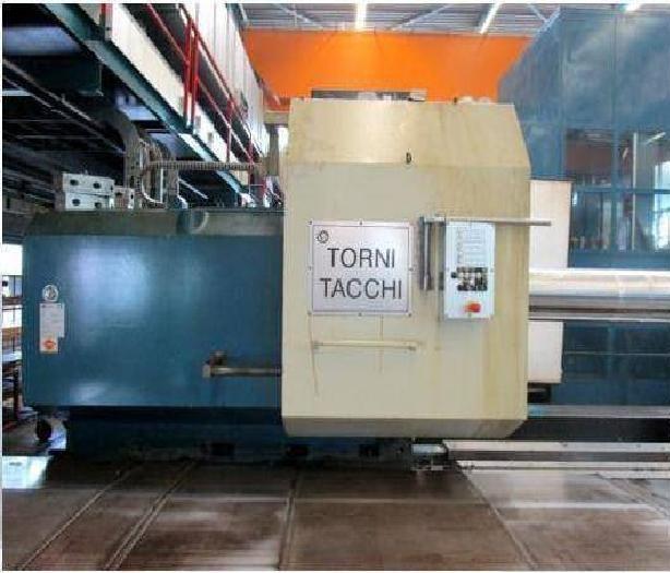 Tacchi SIEMENS 840D CNC CONTROL 360 rpm HD/3-140 LS CNC 2 Axis