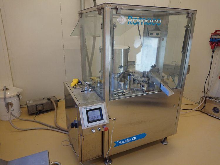 Macofar, Romaco CD-40 Capsule Filling Machines/Capsule Polishing Machines