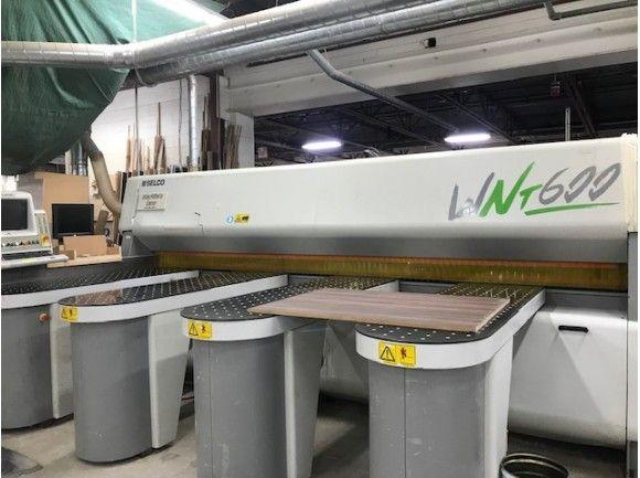 Selco WNT 600 4400, REAR LOAD CNC PANEL SAW