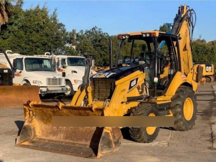 Caterpillar 450F Backhoe Loader
