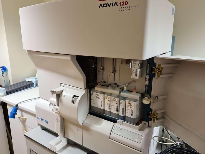 Siemens Advia 120 Hematology System
