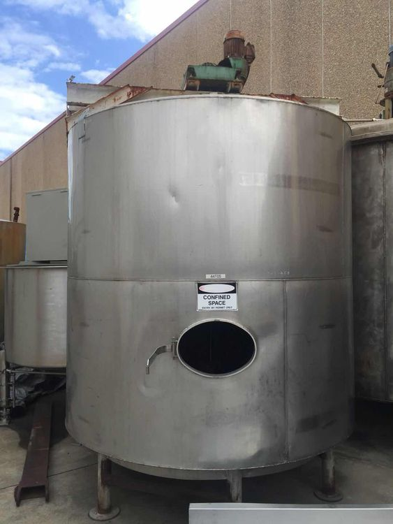 Other 7,000Lt Stainless Steel Mixing Tank