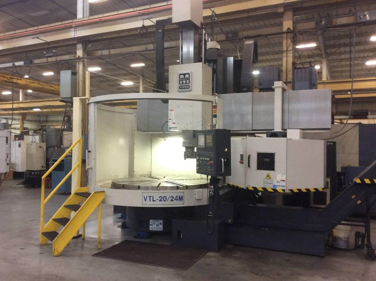 Mighty Viper Mighty Viper VTL-20/24M Vertical Lathes