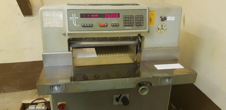 Polar 58 EM, Paper cutter