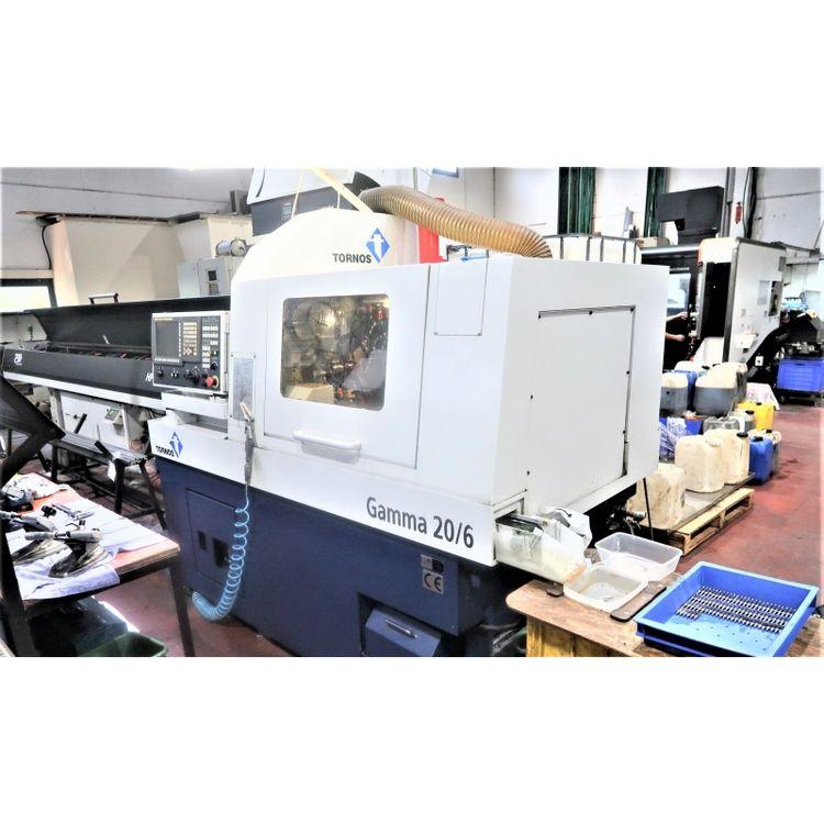 Tornos Fanuc 31i-model A 12000 rpm Gamma 20/6 8 Axis