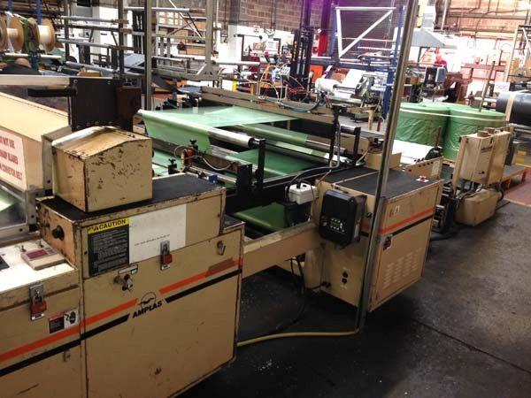 Amplas 1425S Servo Bottom Weld Bag Machine