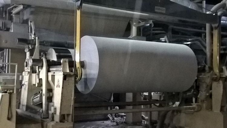 """Voith 2800-3100 mm Pope Reeler, """"universal"""", modernised for speed 1200m/min, DEAL PRICE"""