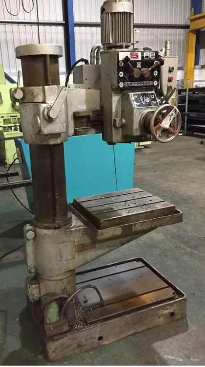 Qualters & Smith DRILLMASTER QSR2 RADIAL DRILL Max. 750 rpm